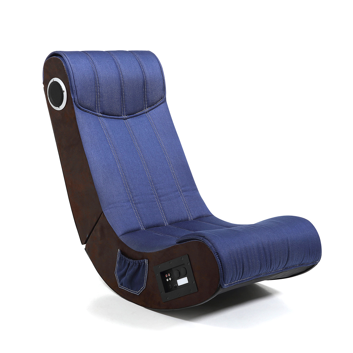 SESSEL GAME CHAIR SOUND PS3 XBOX Wii JEANS STOFF DENIM