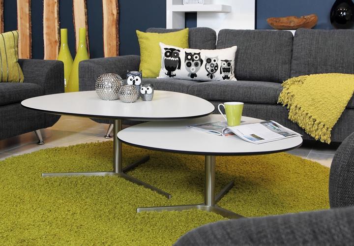 couchtisch plector wohnzimmer tisch platte laminat weiß
