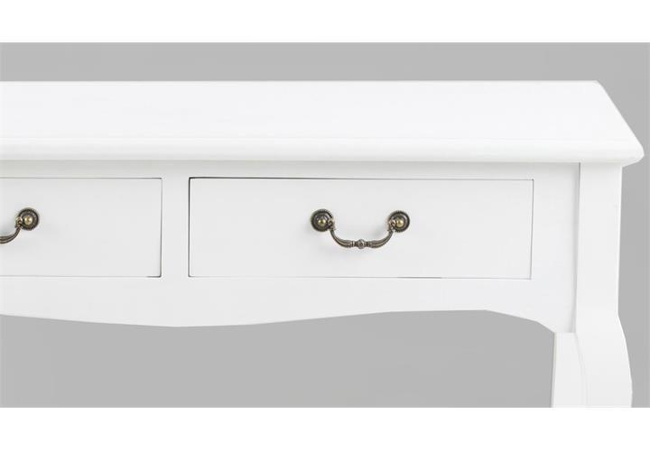 konsolentisch carikko holz wei lackiert antiklook anrichte tisch ebay. Black Bedroom Furniture Sets. Home Design Ideas