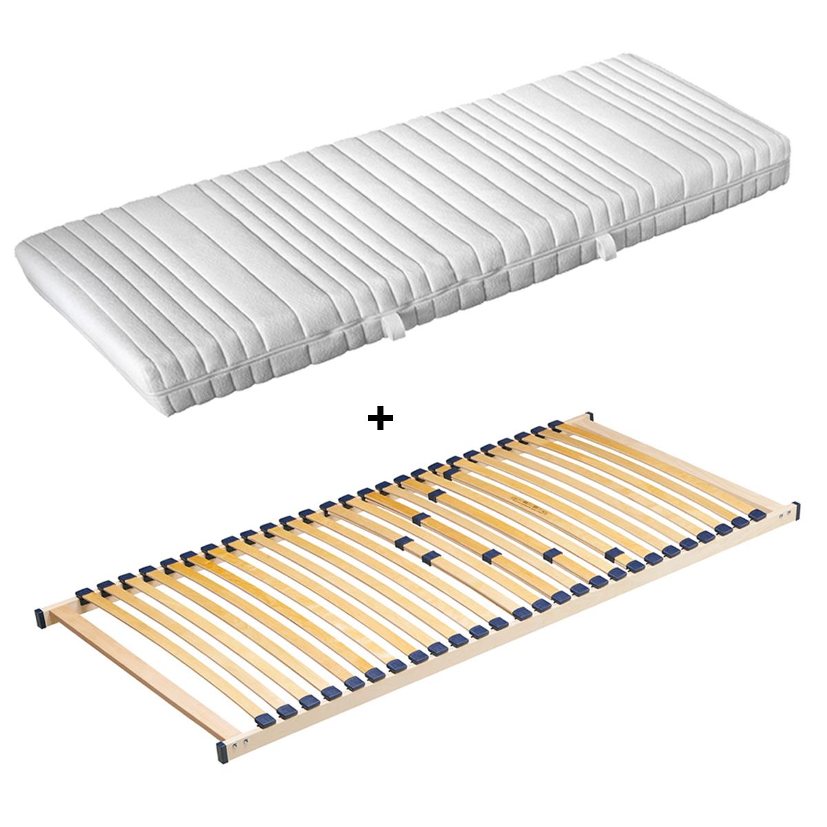 matratze speedy lattenrost 90x200 rubin lattenrahmen 26 leisten g nstiges set ebay. Black Bedroom Furniture Sets. Home Design Ideas