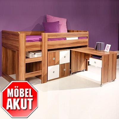 hochbett timmy 1 bett 1 kommode 1 schreibtisch ebay. Black Bedroom Furniture Sets. Home Design Ideas