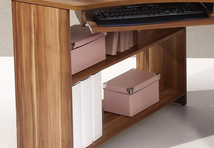 eckschreibtisch tanga computer pc schreibtisch b ro. Black Bedroom Furniture Sets. Home Design Ideas