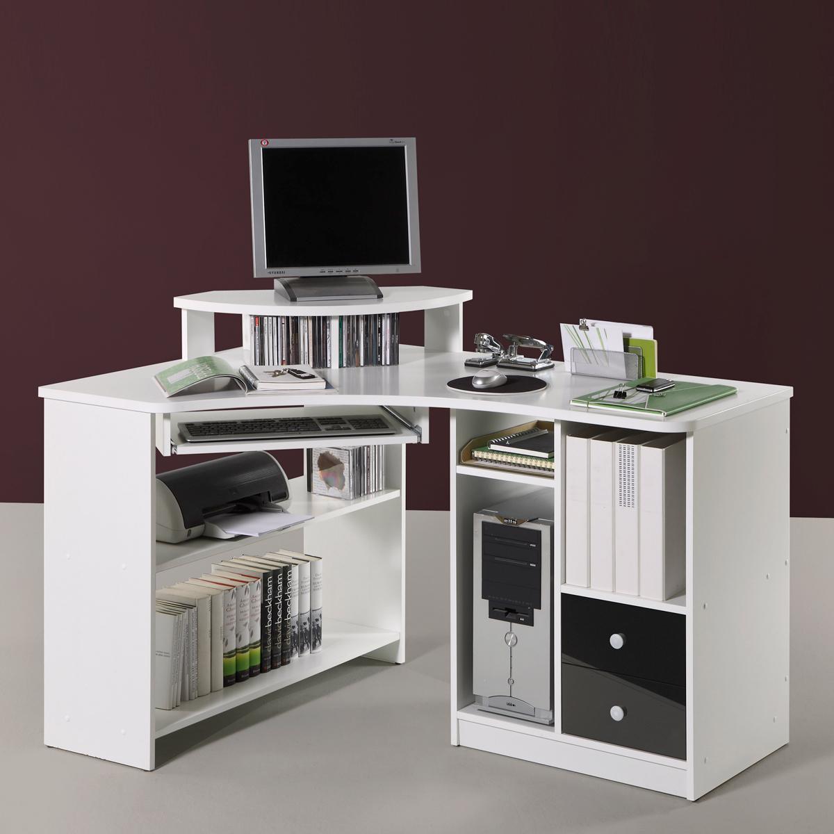 Pc eckschreibtisch  Eckschreibtisch Tanga Computer PC Schreibtisch Büro Jugendzimmer ...