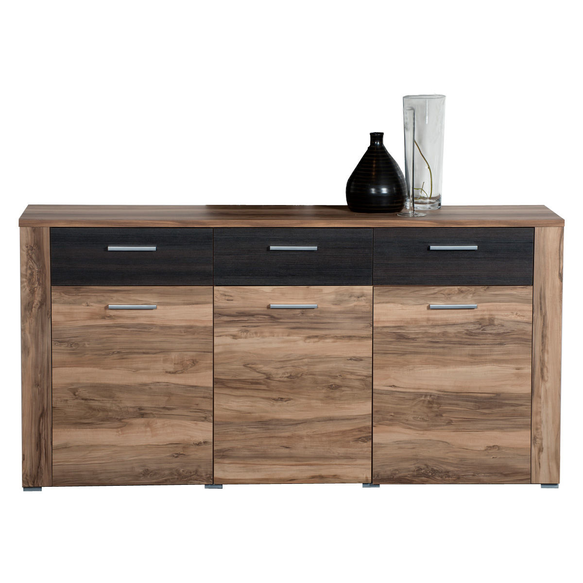 sideboard kandy kommode nussbaum touchwood neu ebay. Black Bedroom Furniture Sets. Home Design Ideas