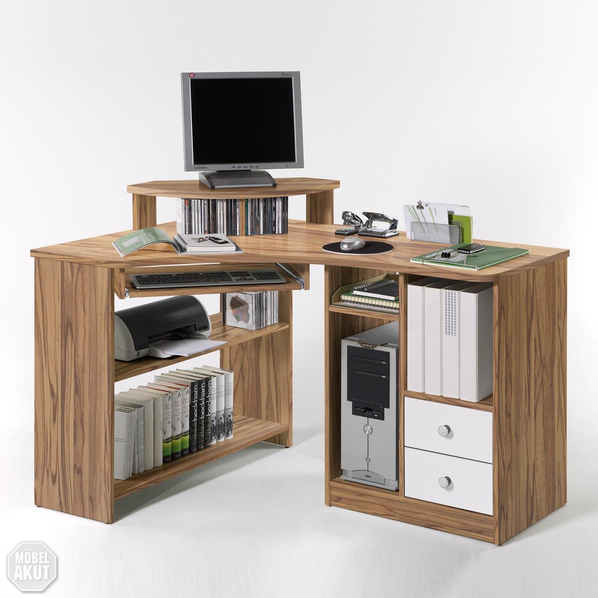 pc tisch lectra schreibtisch in baltimore wei neu ebay. Black Bedroom Furniture Sets. Home Design Ideas
