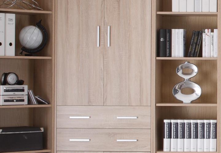 aktenschrank office line biz b rom bel in sonoma eiche dekor ebay. Black Bedroom Furniture Sets. Home Design Ideas