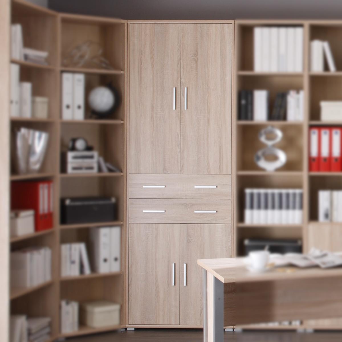 aktenschrank office line biz b rom bel in sonoma eiche. Black Bedroom Furniture Sets. Home Design Ideas
