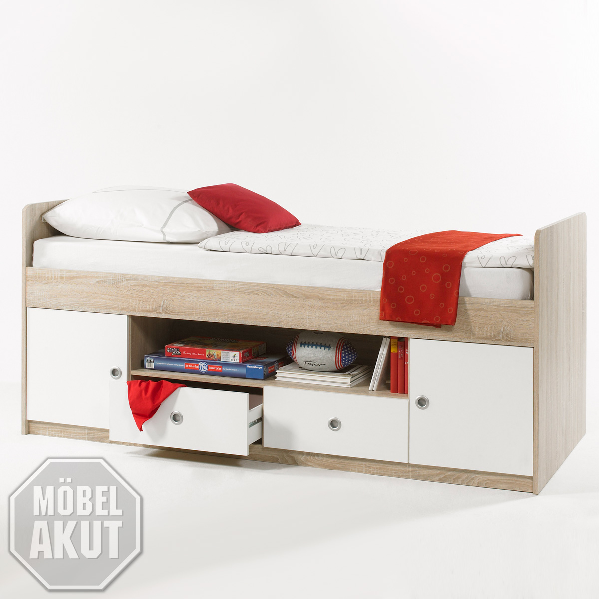 hochbett wiki kinderbett bett in sonoma eiche s gerau und. Black Bedroom Furniture Sets. Home Design Ideas