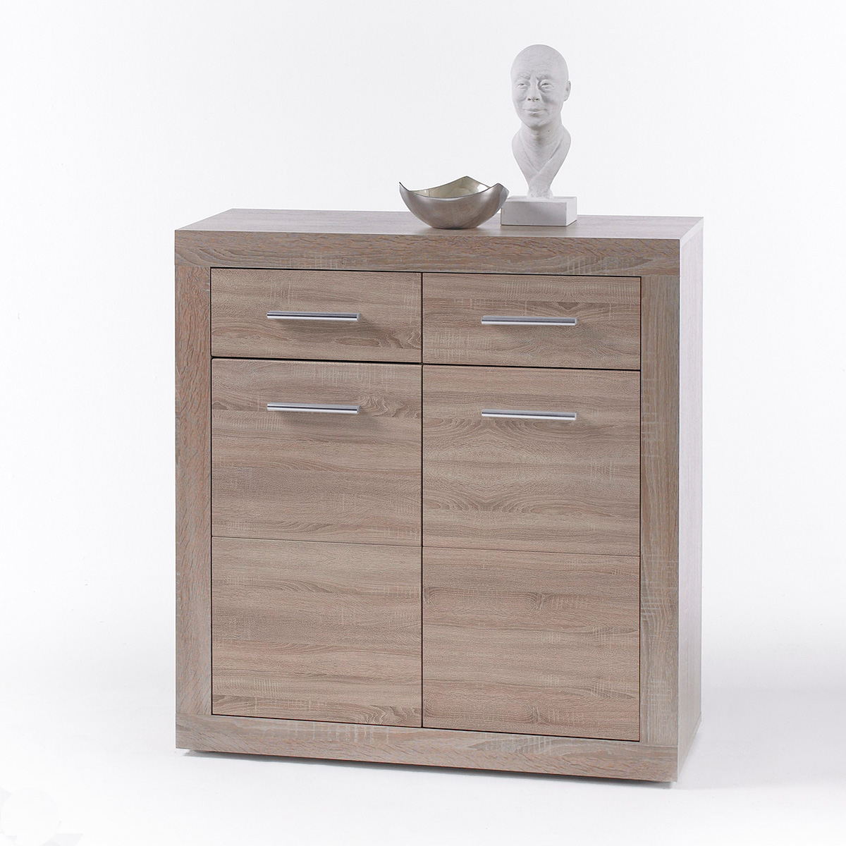kommode cancan 1 sideboard highboard sonoma eiche s gerau neu ebay. Black Bedroom Furniture Sets. Home Design Ideas