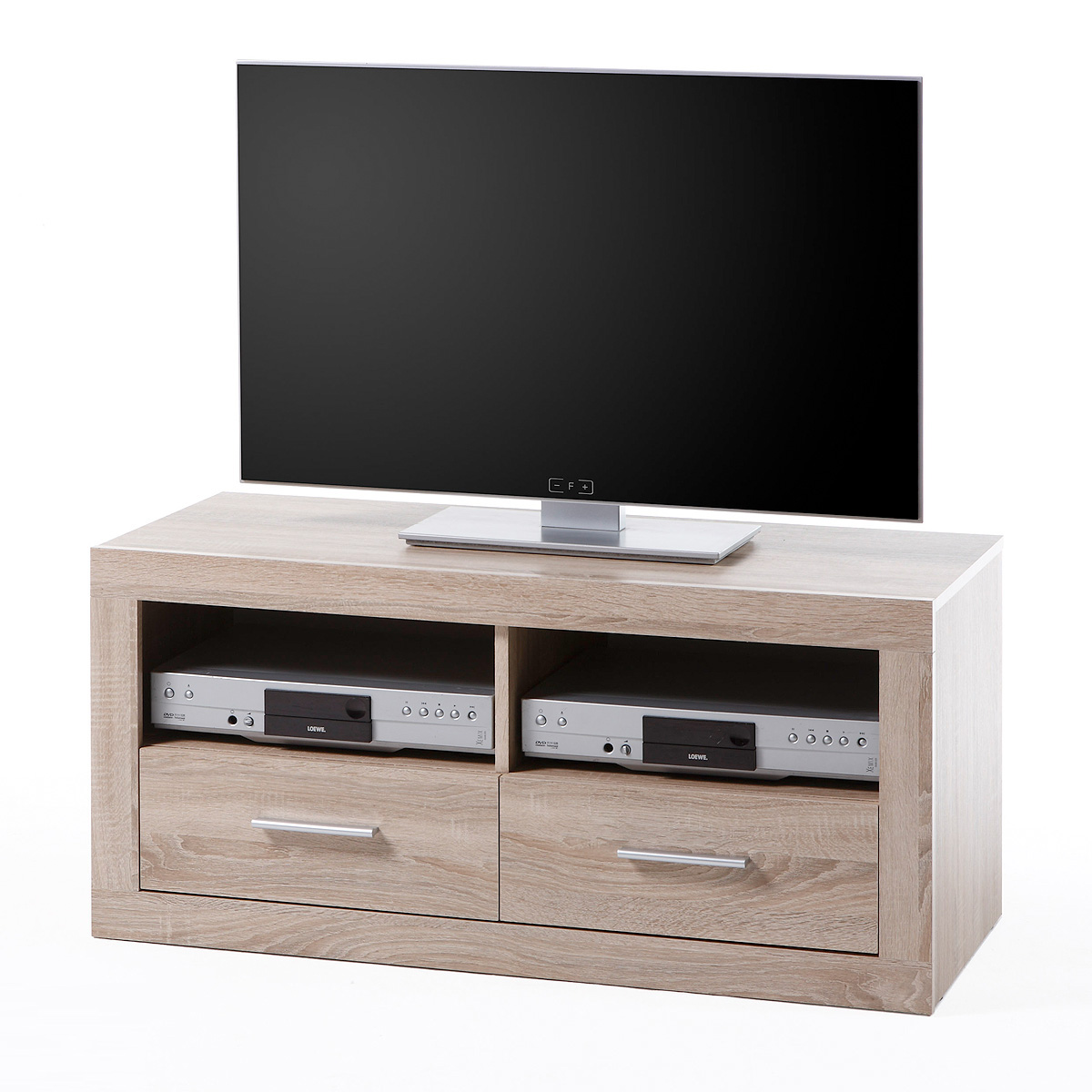 lowboard cancan 5 tv board tv kommode sonoma eiche s gerau. Black Bedroom Furniture Sets. Home Design Ideas