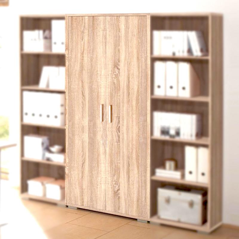 aktenschrank office line biz in sonoma eiche b roschrank f r b ro arbeitszimmer ebay. Black Bedroom Furniture Sets. Home Design Ideas