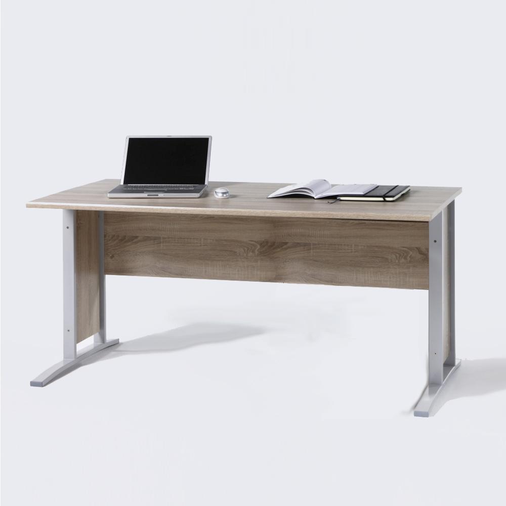 Schreibtisch b ro office line biz in sonoma eiche breite for Schreibtisch 150