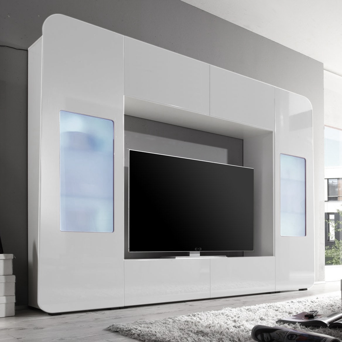 wohnzimmer schrankwand modern luxus wohnzimmer. Black Bedroom Furniture Sets. Home Design Ideas