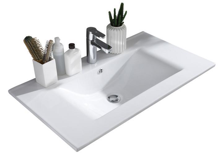 Waschtisch Jasmin Badezimmer Schrank mit Waschbecken  ~ Waschbecken Jasmin Gebraucht