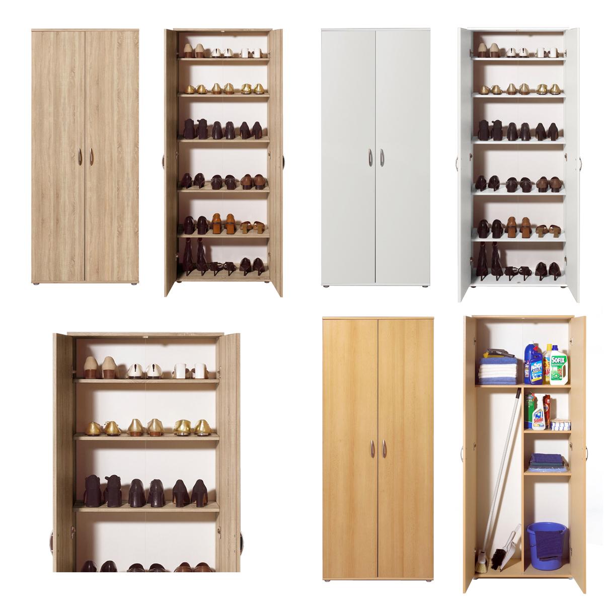 haushaltsschrank mehrzweck talent dielenschrank schuhschrank vorratsschrank ebay. Black Bedroom Furniture Sets. Home Design Ideas
