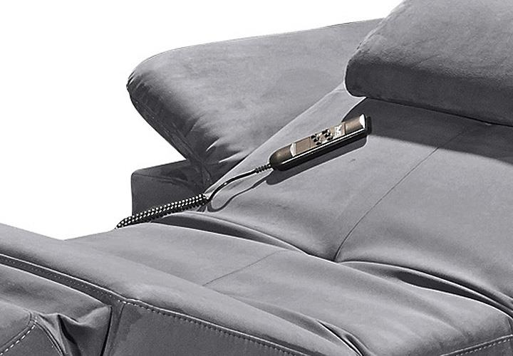 ecksofa napoli sofa relaxsofa wohnlandschaft in anthrazit mit relaxfunktion eur. Black Bedroom Furniture Sets. Home Design Ideas