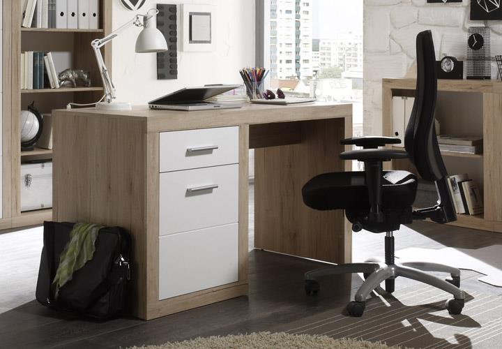 schreibtisch 1 can can computertisch pc tisch in san remo. Black Bedroom Furniture Sets. Home Design Ideas