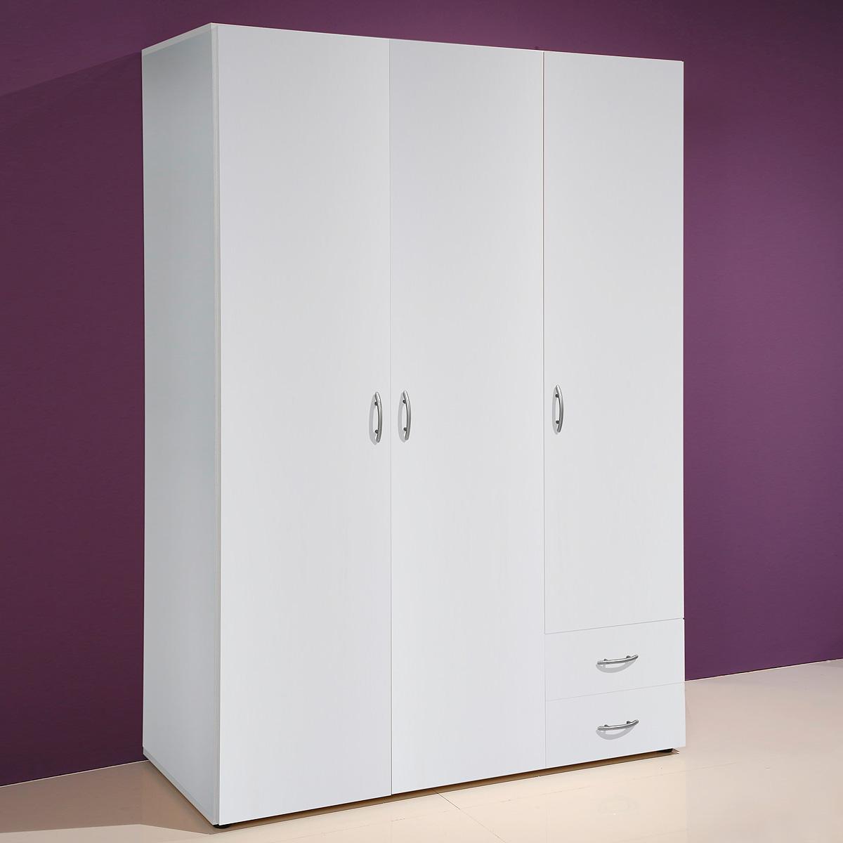 kleiderschrank base 3 schlafzimmer schrank 120cm. Black Bedroom Furniture Sets. Home Design Ideas