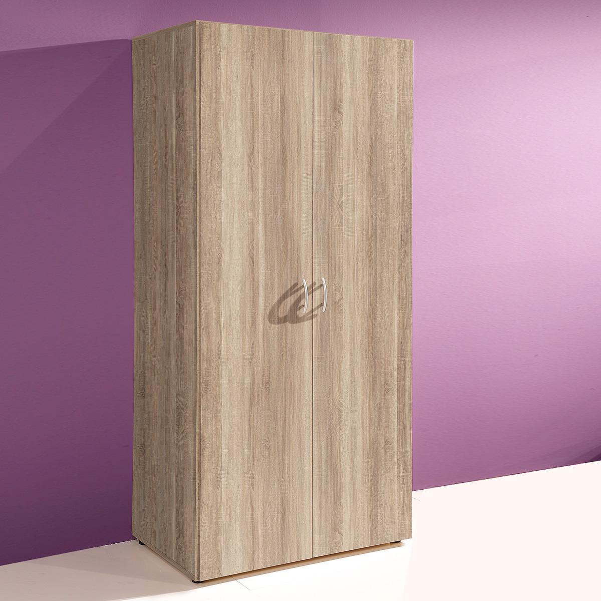 kleiderschrank base schrank in wei sonoma buche walnuss gr en auswahl ebay. Black Bedroom Furniture Sets. Home Design Ideas