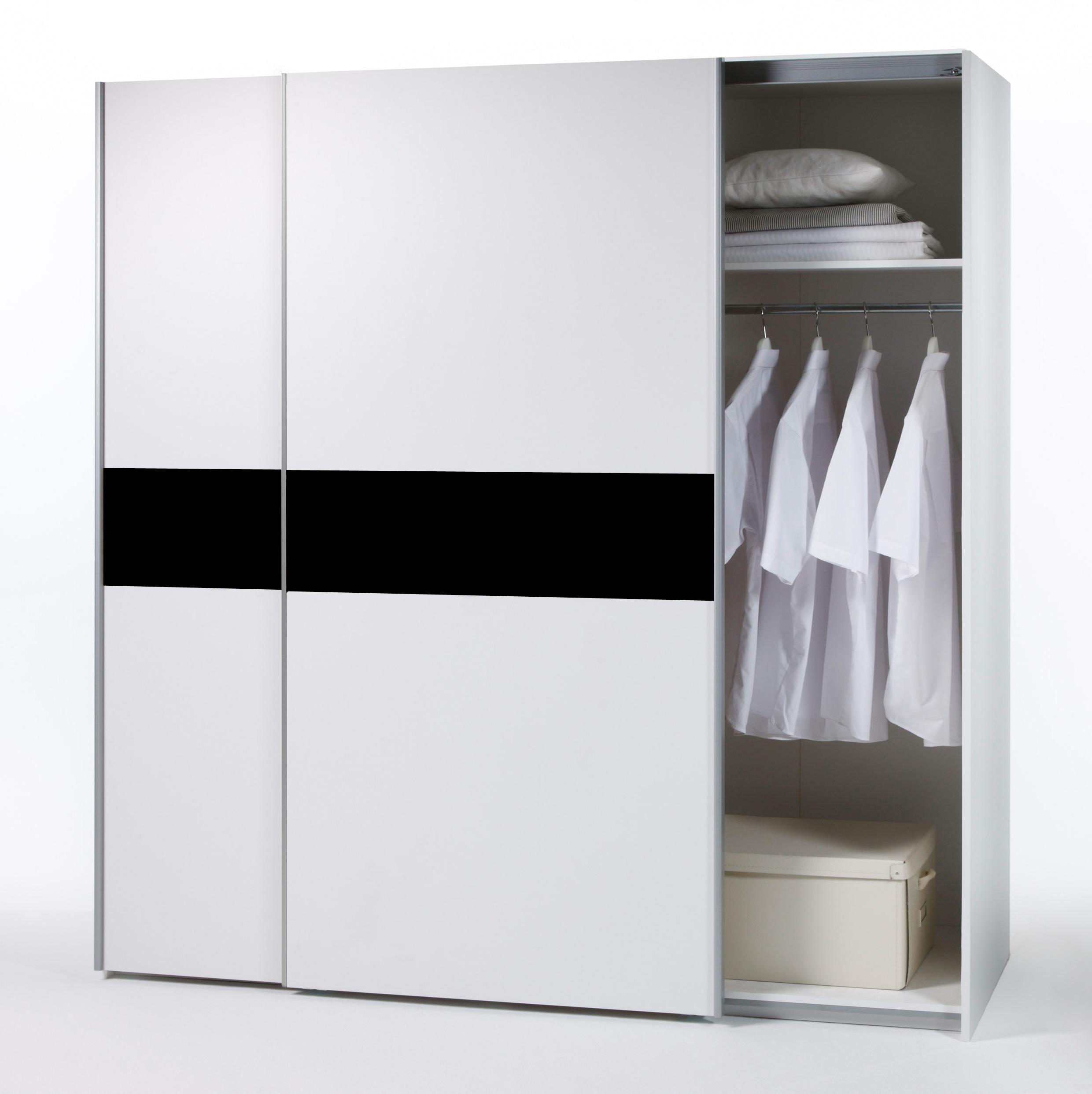 schwebet renschrank victor kleiderschrank wei schwarz sonoma eiche auswahl ebay. Black Bedroom Furniture Sets. Home Design Ideas