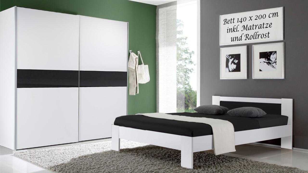 Schlafzimmer vega kleiderschrank schwebet ren futonbett for Schlafzimmer set mit matratze
