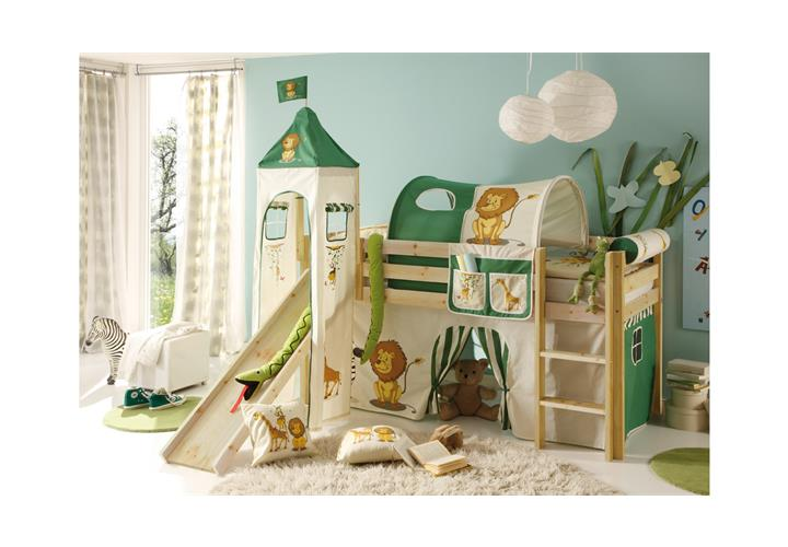 hochbett mit rutsche snoopy kinderzimmer bett 90x200 kiefer massiv natur leiter eur 129 95. Black Bedroom Furniture Sets. Home Design Ideas