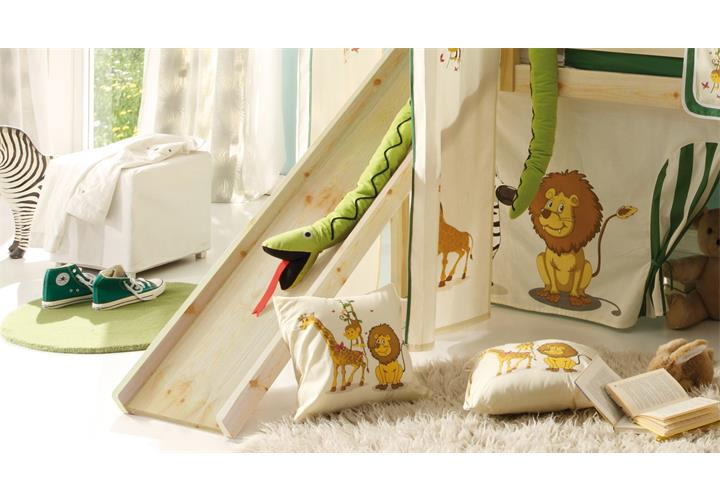 hochbett mit rutsche snoopy kinderzimmer bett 90x200 kiefer massiv natur leiter ebay. Black Bedroom Furniture Sets. Home Design Ideas