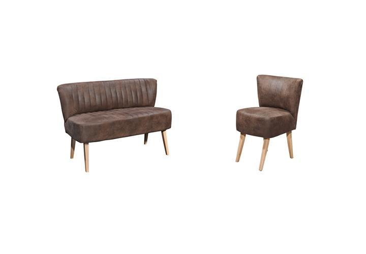 esszimmer marcel sessel bank esstisch essgruppe 5 tlg. Black Bedroom Furniture Sets. Home Design Ideas