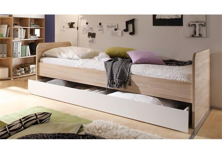 jugendzimmer 5 teilig corner eckschrank jugendbett 3 kommoden sonoma eiche eur 759 95. Black Bedroom Furniture Sets. Home Design Ideas