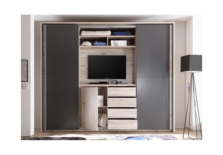 schwebet renschrank cinema schrank kleiderschrank in. Black Bedroom Furniture Sets. Home Design Ideas