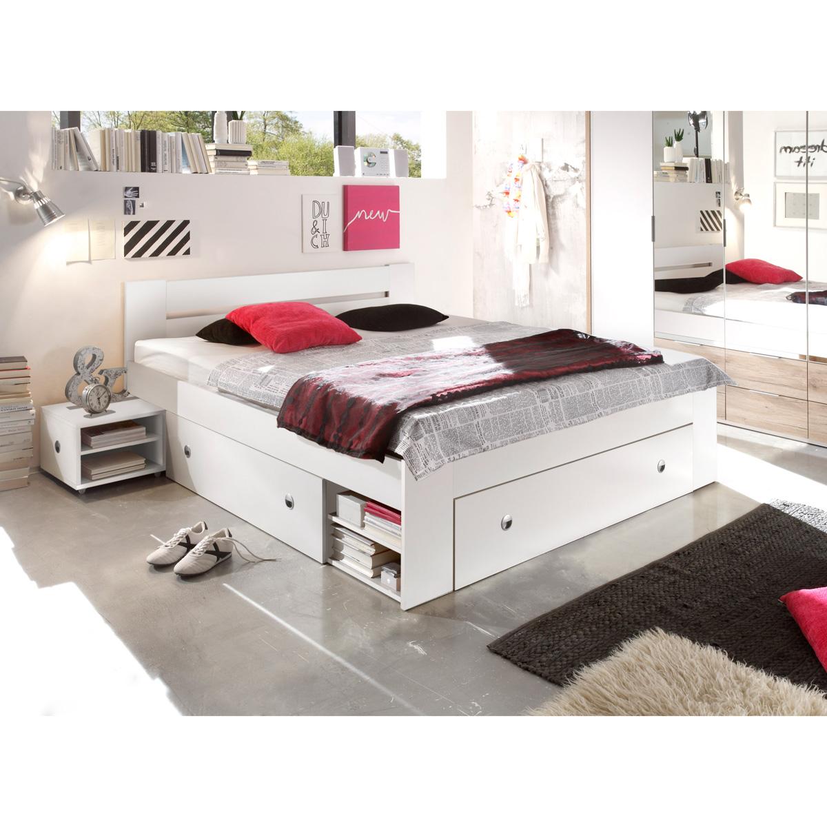 bett stefan funktionsbett doppelbett bettanlage mit. Black Bedroom Furniture Sets. Home Design Ideas