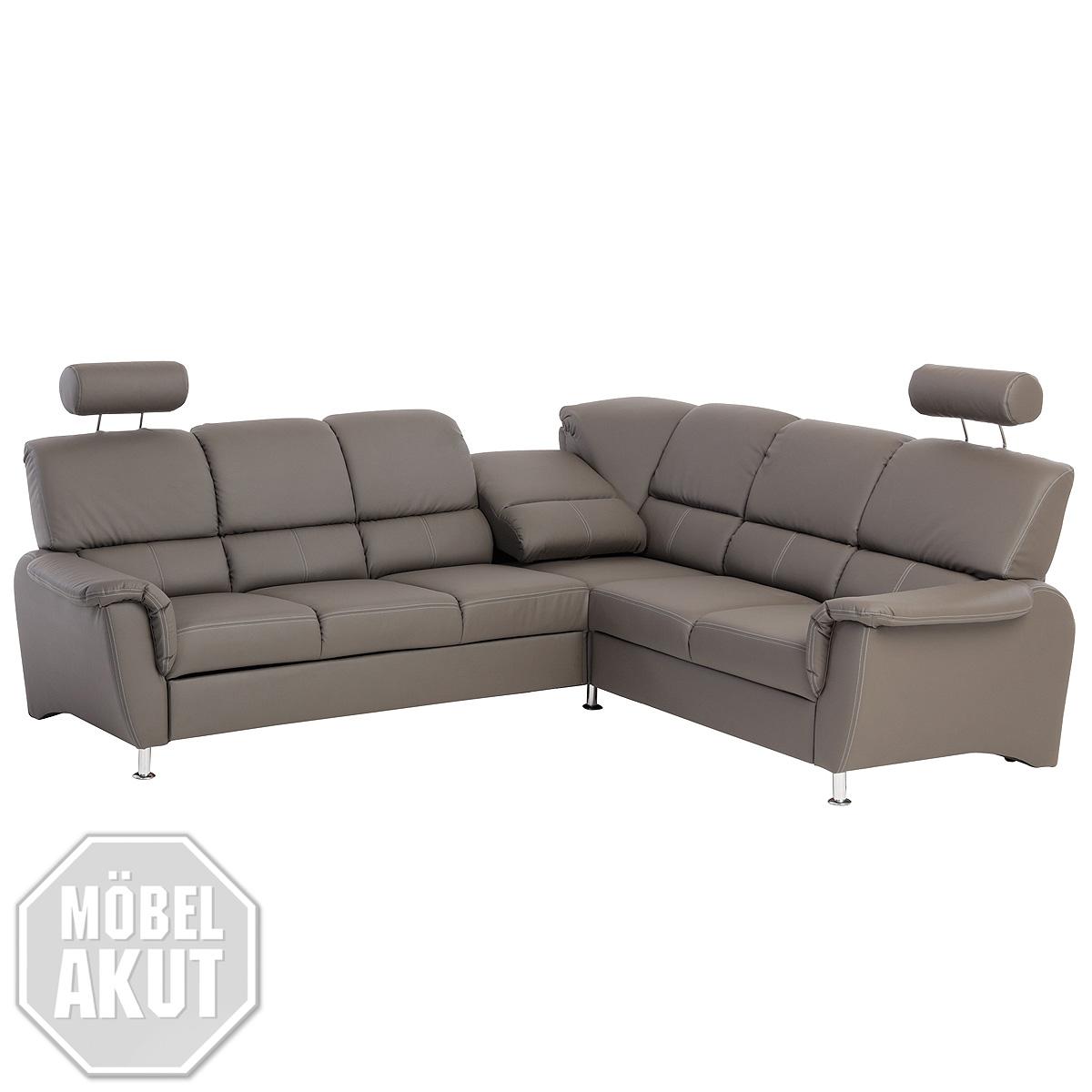 ecksofa pisa eckgarnitur sofa in dunkel grau bettfunktion relaxfunktion ebay. Black Bedroom Furniture Sets. Home Design Ideas