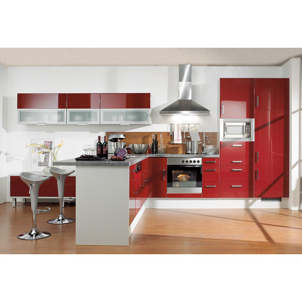 brigitte k che einbauk che l k che inkl e ger te mit vielen farben 606 ebay. Black Bedroom Furniture Sets. Home Design Ideas