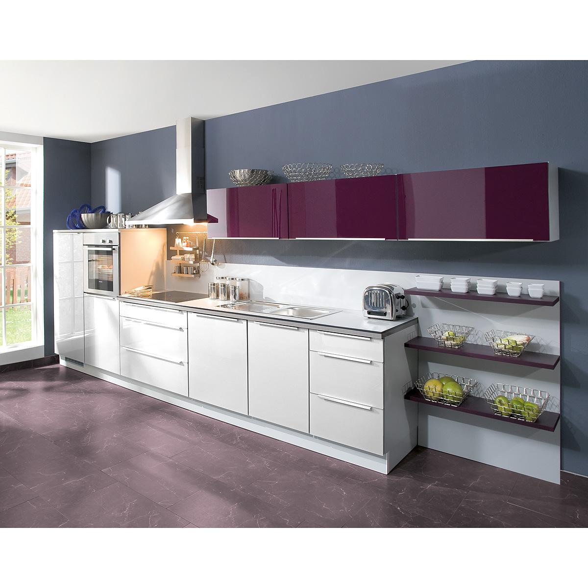 brigitte k che einbauk che k chenzeile inkl e ger te mit vielen farben 974 ebay. Black Bedroom Furniture Sets. Home Design Ideas