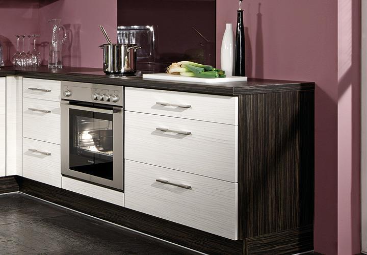 brigitte k che einbauk che k chenzeile inkl e ger te mit. Black Bedroom Furniture Sets. Home Design Ideas
