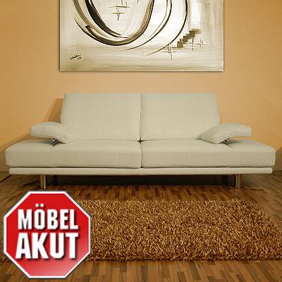 Rolf Benz Leder Sofa In Weiß L Sob Bs 2400 98257 Neu Ebay