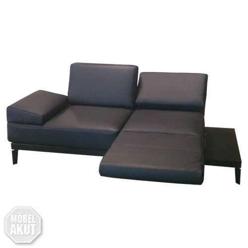 sofabank liege molto rolf benz sofa funktionssofa leder schwarz ebay. Black Bedroom Furniture Sets. Home Design Ideas