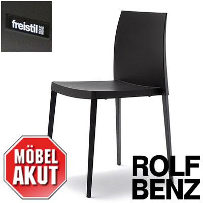stuhl stapelstuhl freistil stu 193 rolf benz anthrazit und. Black Bedroom Furniture Sets. Home Design Ideas