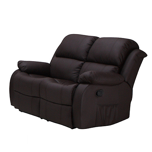 2er sofa lakos polsterm bel in braun mit relaxfunktion neu ebay. Black Bedroom Furniture Sets. Home Design Ideas