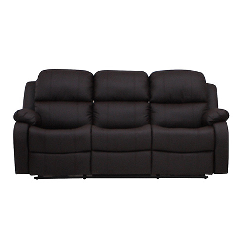 3 sitzer couch sofa lakos polsterm bel in braun mit relaxfunktion ebay. Black Bedroom Furniture Sets. Home Design Ideas