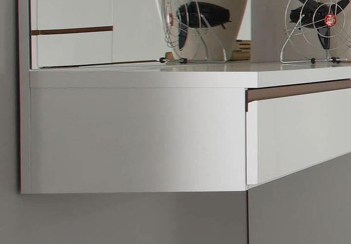 schminktisch neve schminkplatz weiss hochglanz tiefzieh. Black Bedroom Furniture Sets. Home Design Ideas