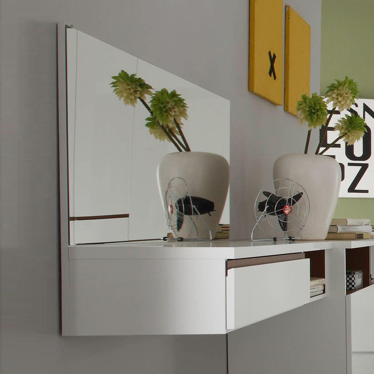 schminktisch neve schminkplatz wei hochglanz tiefzieh und. Black Bedroom Furniture Sets. Home Design Ideas