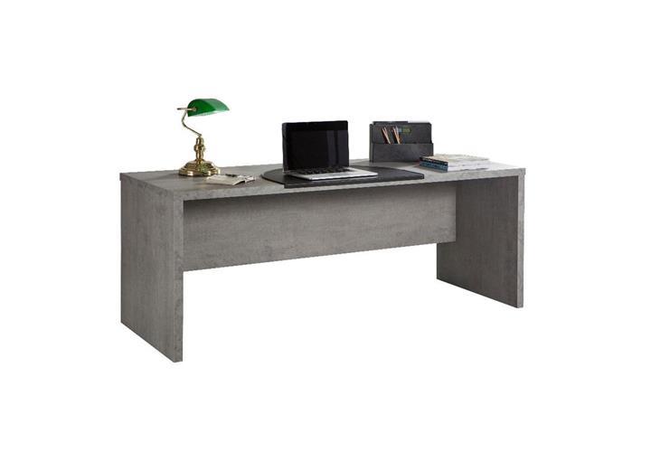 b roset 1 pratico regal schreibtisch kommode in beton und wei hochglanz lack ebay. Black Bedroom Furniture Sets. Home Design Ideas