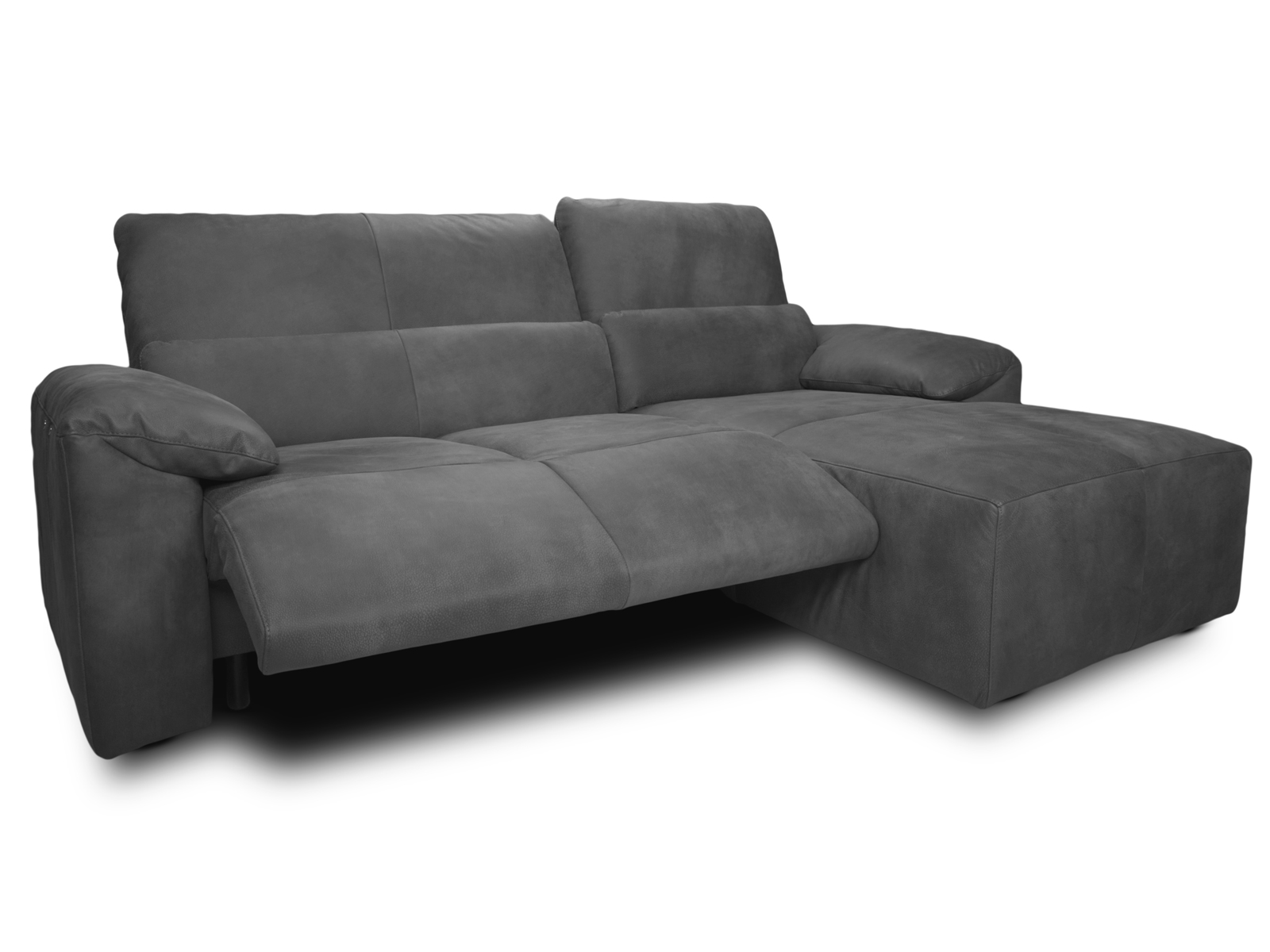 ecksofa silverstone sofa dunkelgrau wahlweise mit. Black Bedroom Furniture Sets. Home Design Ideas