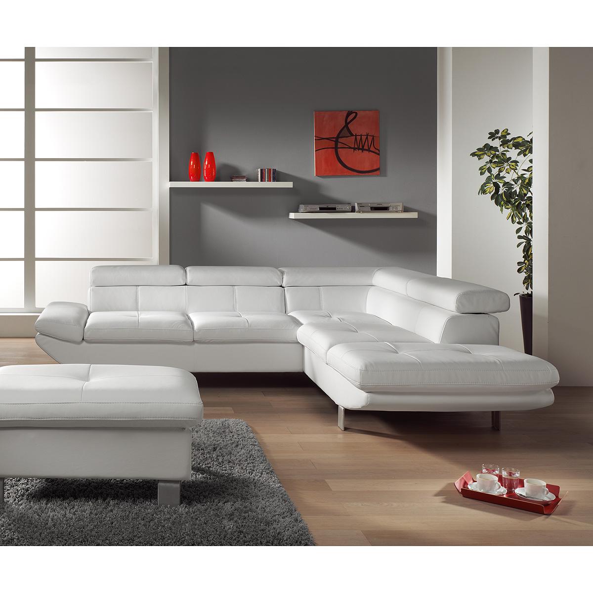 ecksofa carrier wohnlandschaft sofa polsterecke wei schwarz anthrazit auswahl ebay. Black Bedroom Furniture Sets. Home Design Ideas