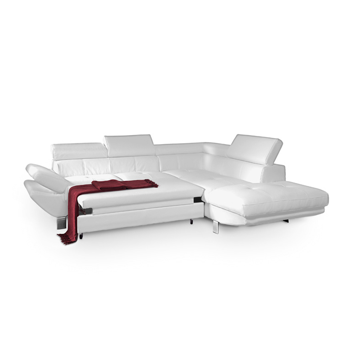 ecksofa carrier wohnlandschaft sofa polsterecke wei. Black Bedroom Furniture Sets. Home Design Ideas