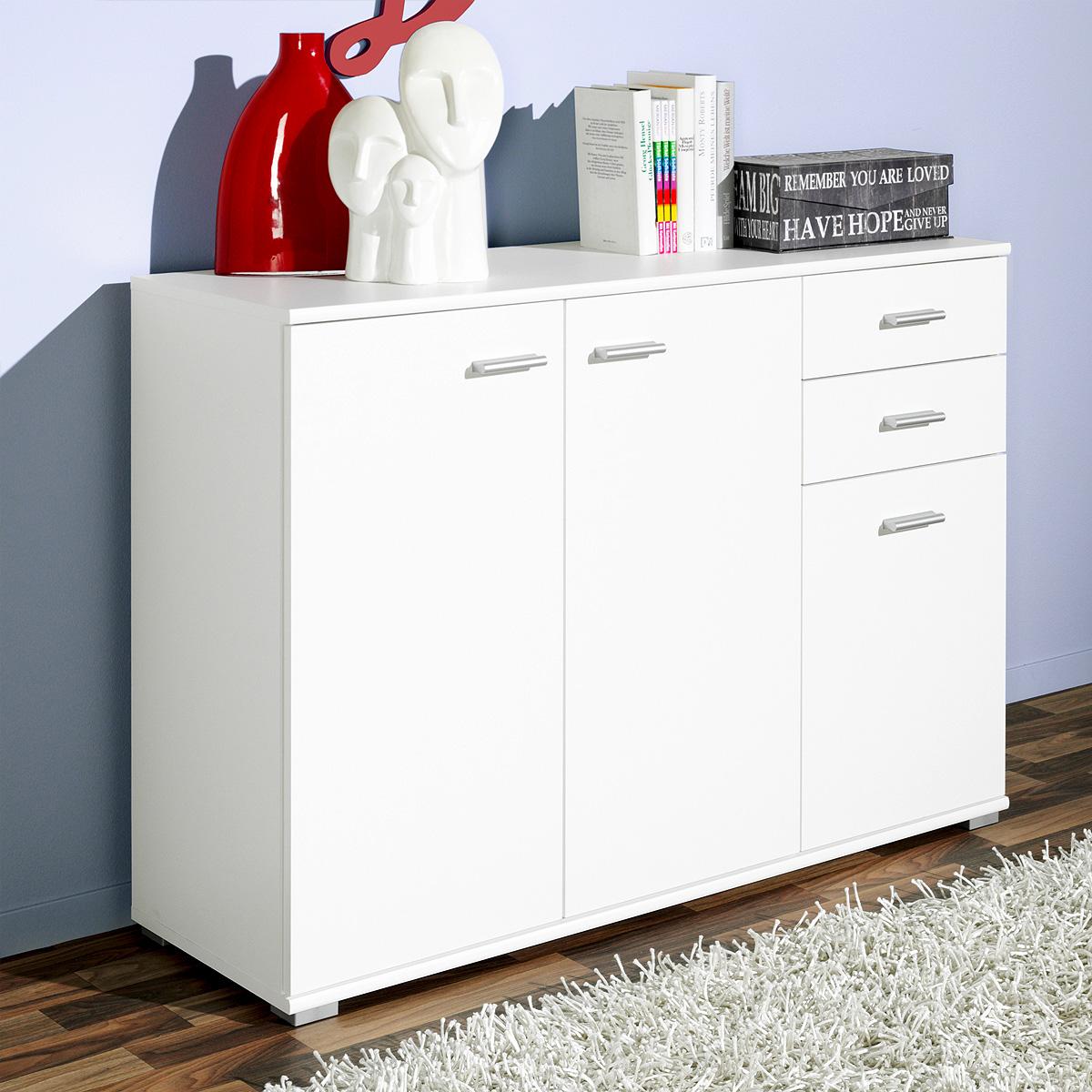 kommode p92 sideboard anrichte schrank wei eiche buche bussbaum von cs schmal ebay. Black Bedroom Furniture Sets. Home Design Ideas