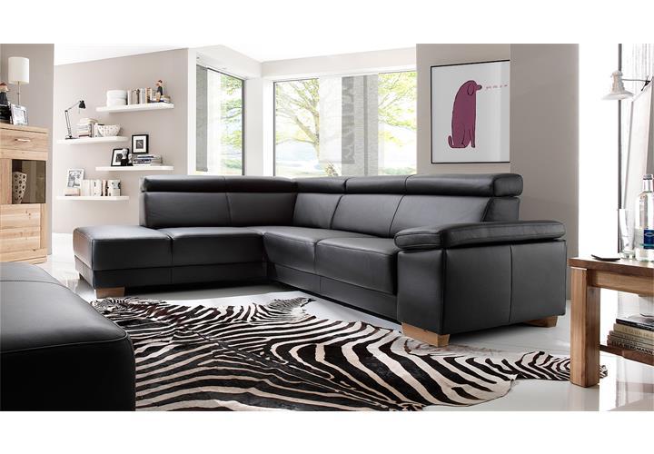 sitzbank santiago hocker polsterbank polsterhocker bank in leder schwarz ebay. Black Bedroom Furniture Sets. Home Design Ideas