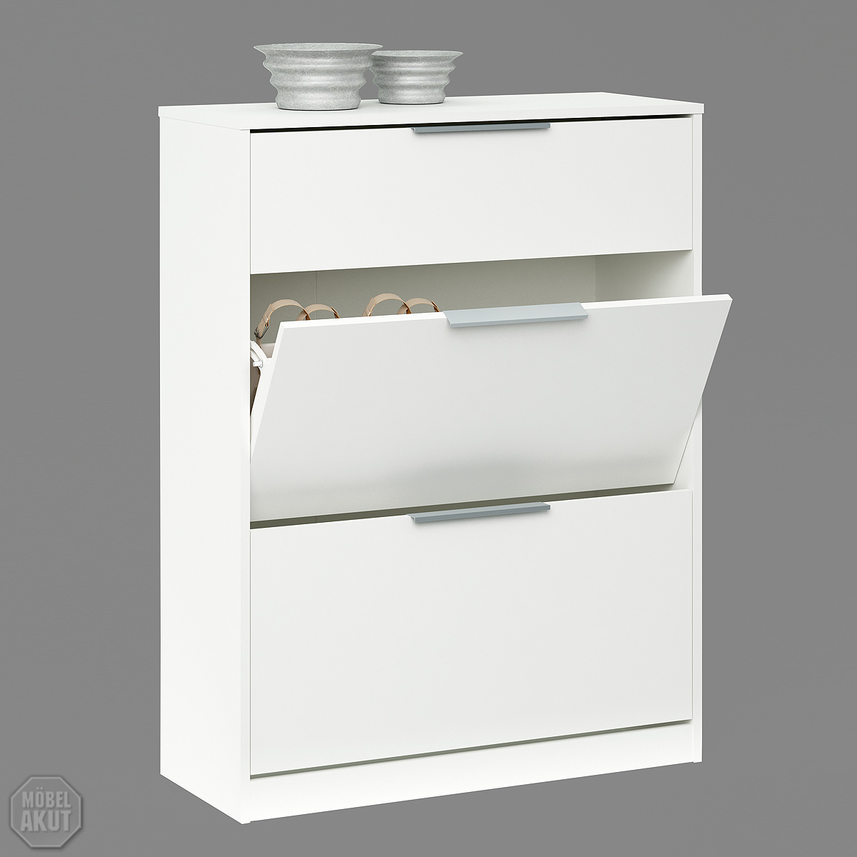schuhschrank chest schuhkommode schuhregal schrank kommode in wei ebay. Black Bedroom Furniture Sets. Home Design Ideas
