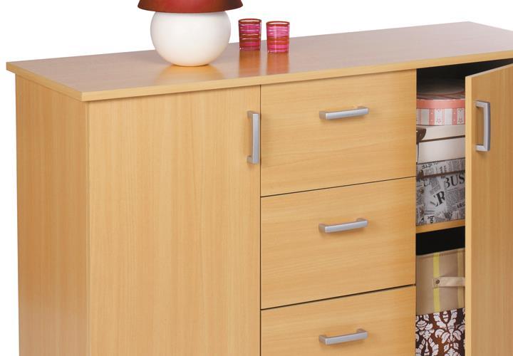kommode sideboard swift anrichte schrank mit t ren. Black Bedroom Furniture Sets. Home Design Ideas